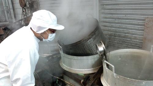 向井甘納豆の作り方ページを更新しました。