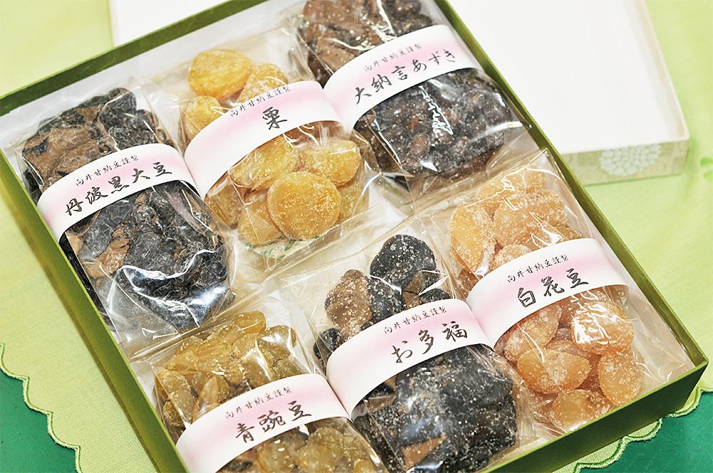 【贈答品】甘納豆6種詰め合わせ